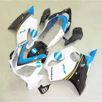 H Motorcycle Kit Fairing For CBR600RR CBR 600RR F5 2007 2008 CBR600 RR CBR 600 RR 07 08 Injection Mold white blue Fairings