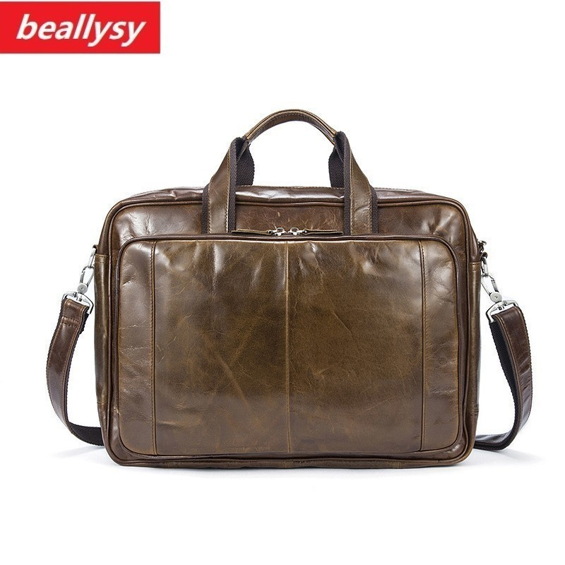 Vintage Genuine Leather Men Bag Men Briefcases male Leather business Computer Laptop Bags Crossbody Bags Mens Messenger Bag contact s genuine leather men bag men briefcases male shoulder business computer laptop bags crossbody bags mens messenger bag