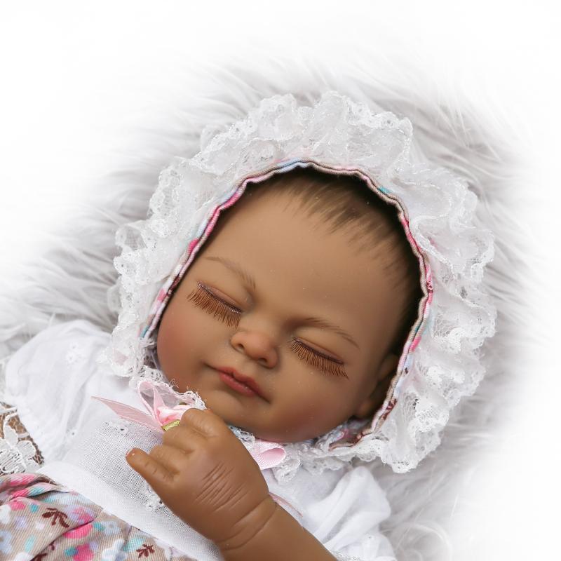 boneca 26cm full Silicone Reborn Dolls Baby Realistic Doll Reborn Vinyl Boneca BeBe Reborn Doll toys For Girls Christmas Gift 1