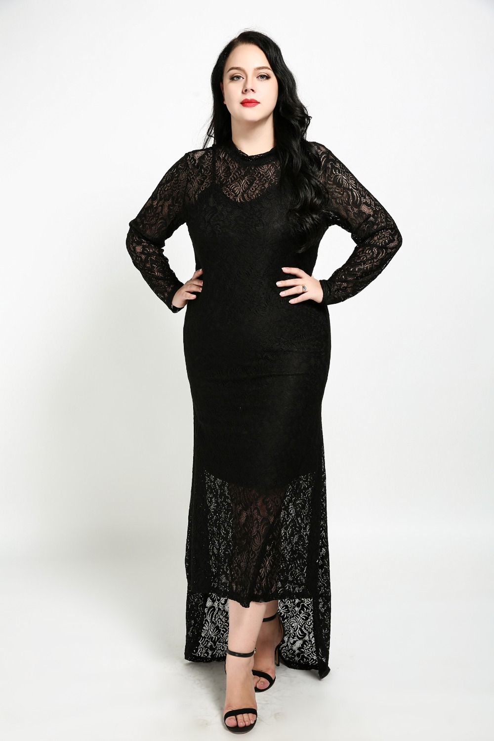 b08a7ad8891 Plus Size Lace Cocktail Dresses With Sleeves - Data Dynamic AG