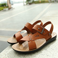 2016 Summer New Men's Casual Sandals Fashion Sandals Slippers Wholesale Men's Shoes SIZE 35-43 Free Shipping