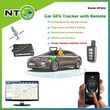 NTG04 высокого качества исторического отслеживания маршрута gps tracker freeshipping remote релиз грузовик и закрытия окна по приложениям и sms