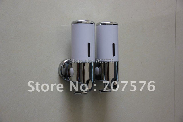 Wholesale+Low Freight Foaming Double Soap Dispensers Bathroom Liquid  Soap Dispenser TSD-30C For Hotel or Family