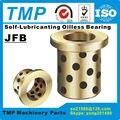 JFB202815/JFB202820/JFB202825/JFB202830/JFB202840 фланцевый самосмазывающийся подшипник графитовый латунный Втулка-диаметр 20 мм