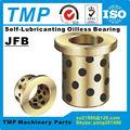 JFB202815/JFB202820/JFB202825/JFB202830/JFB202840 Flansch Selbst-Schmiermittel Oilless Lager Graphit Messing Buchse-Bohrung größe 20mm