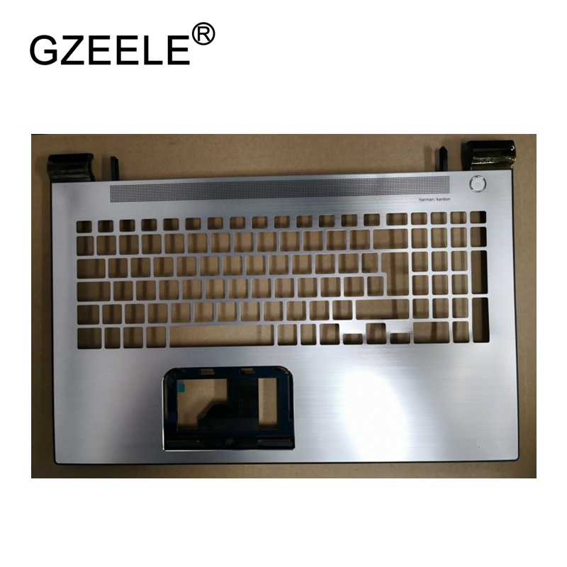 GZEELE New Laptop LCD TOP CASE For Toshiba C50-C C50D-C C55-C C55D-C L50-C Palmrest Keyboard Bezel Cover Upper Case Assembly gzeele laptop new top case for hp for pavilion dv6 3000 dv6 palmrest touchpad top upper cover keyboard bezel c shell