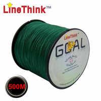 300M 500M marque LineThink objectif japon Multifilament 100% PE tressé ligne de pêche 8LB à 100LB 100M livraison gratuite