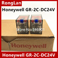 [SA]Honeywell Honeywell genuine original relay GR-2C-DC24V 8 feet 2CO 5A LED--10pcs/lot