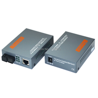 HTB-GS-03 A/B Gigabit סיב האופטי Media Converter 1000 Mbps יציאת SC 20 KM יחיד מצב יחיד סיבים חיצוני אספקת חשמל