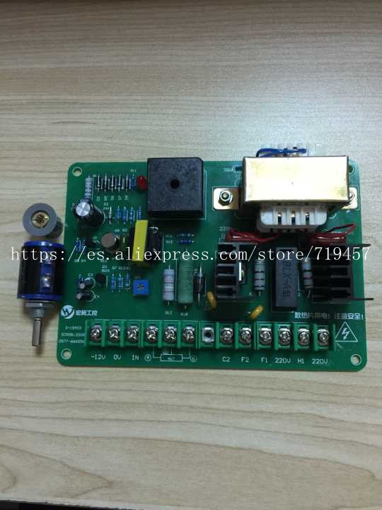 FREE SHIPPING SCR-08 DC Motor Speed Control Board Control Board 220V Governor Making Machine Speed Control Board 500W And Below