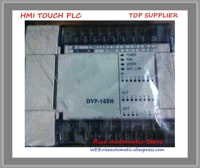 DVP16EH00T2 PLC 100-240VAC 8DI 8DO transistor(NPN) output Standard New OriginalDVP16EH00T2 PLC 100-240VAC 8DI 8DO transistor(NPN) output Standard New Original