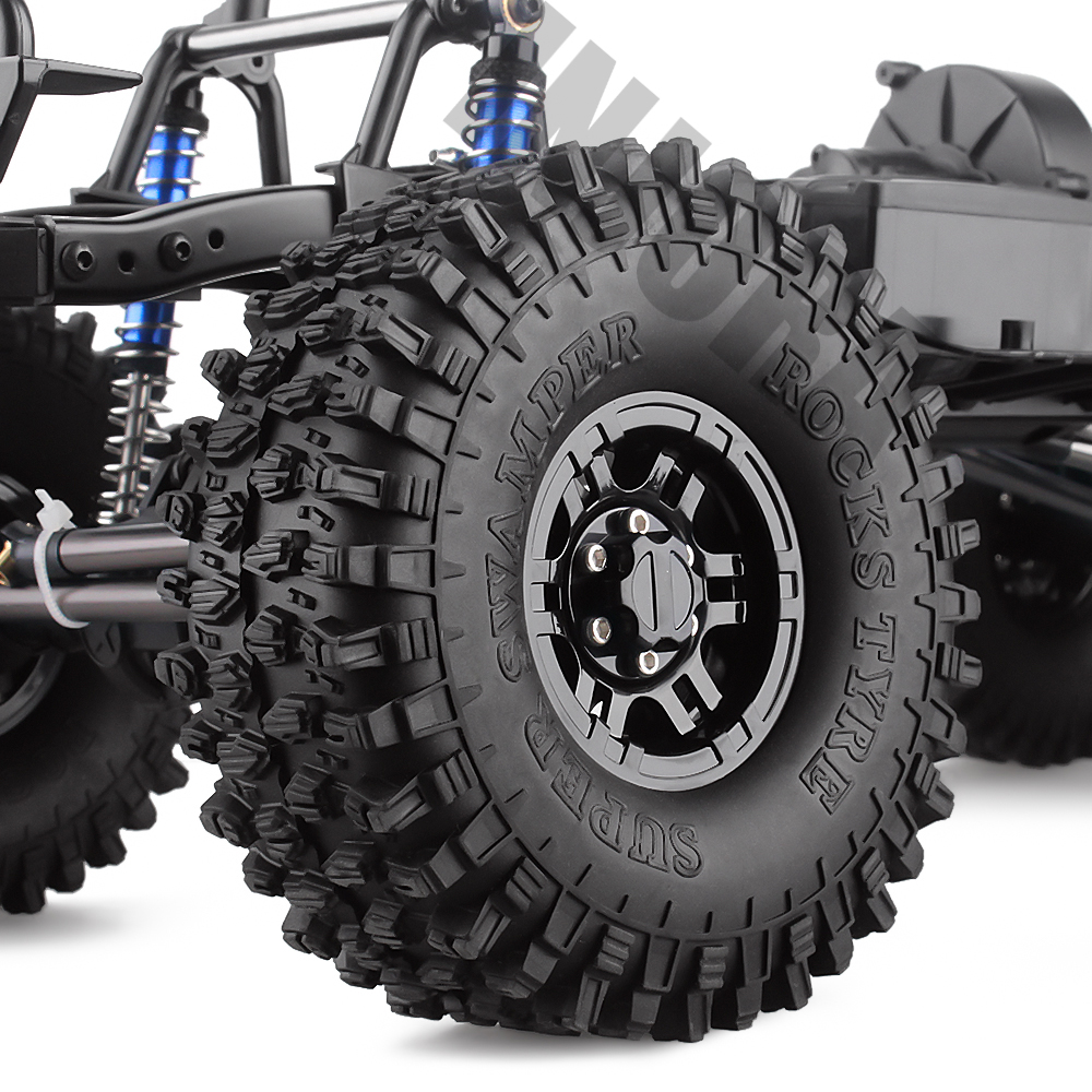 "Image 5 - INJORA 313mm 12.3"" Wheelbase Assembled Frame Chassis for 1/10 RC Crawler Car SCX10 SCX10 II 90046 90047-in Parts & Accessories from Toys & Hobbies"