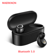 D015  TWS 5.0 Wireless Bluetooth Earphone Stereo Earbud Headset With Charging Box For All Bluetooth tablet Smart phone earphone tws 5 0 wireless bluetooth earphone stereo earbud headset with charging box for all bluetooth tablet smart phone earphone yz268