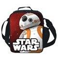 Aislados Bolsa de Almuerzo de Star Wars Niños Del Bebé Tote BB-8 Paquete de Almuerzo Lonchera Portátil Conveniente