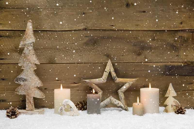Bois planche toile de fond neige bougie Photocall photo cabine Studio photographie arrière-plan vieux bois grange planche Photo portrait toile de fond