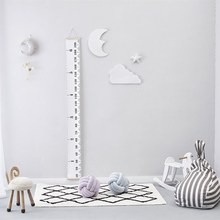 3pcs/set 3D Moon Cloud Star Wall Stickers Nordic Style Children Room Decoration Hanging Ornament