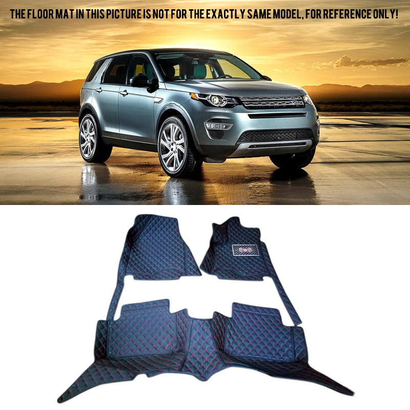 Car Styling Interior Leather Floor Mats & Carpets Car Foot Mat For Land Rover Discovery Sport 2015 2016 2017