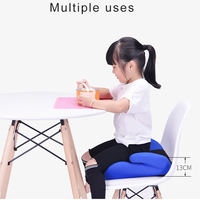 3 12 Year Baby Safe Increase Seat Mat Portable Simple Baby Car Seat Child Thicken Chairs Car Booster Seat Stroller Seat Cushion