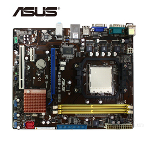 For NVIDIA GeForce 7025 630a ASUS M2N68-AM SE2 Motherboard DDR2 M2N68 AM SE 2 Desktop Mainboard Systemboard Used