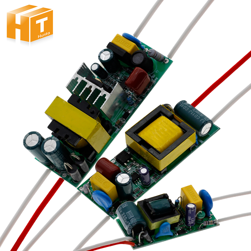 1-3W,4-7W,8-12W,18-25W,25-36W LED Driver Built-in Constant Surrent 110-265V Output 300mA Power Supply