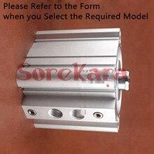 RDQB20-15 RDQB20-20 RDQB20-25 RDQB20-30 RDQB20-40 RDQB20-50 RDQB25-15 RDQB25-20 Compact Air Цилиндр С Магнитом Сквозное отверстие