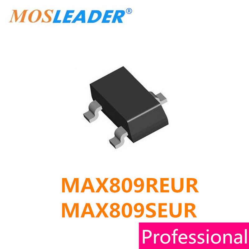 Made in China SOT23 500PCS 1000PCS MAX809REUR 2.63V MAX809SEUR 2.93V MAX809 MAX809R MAX809S High quality image