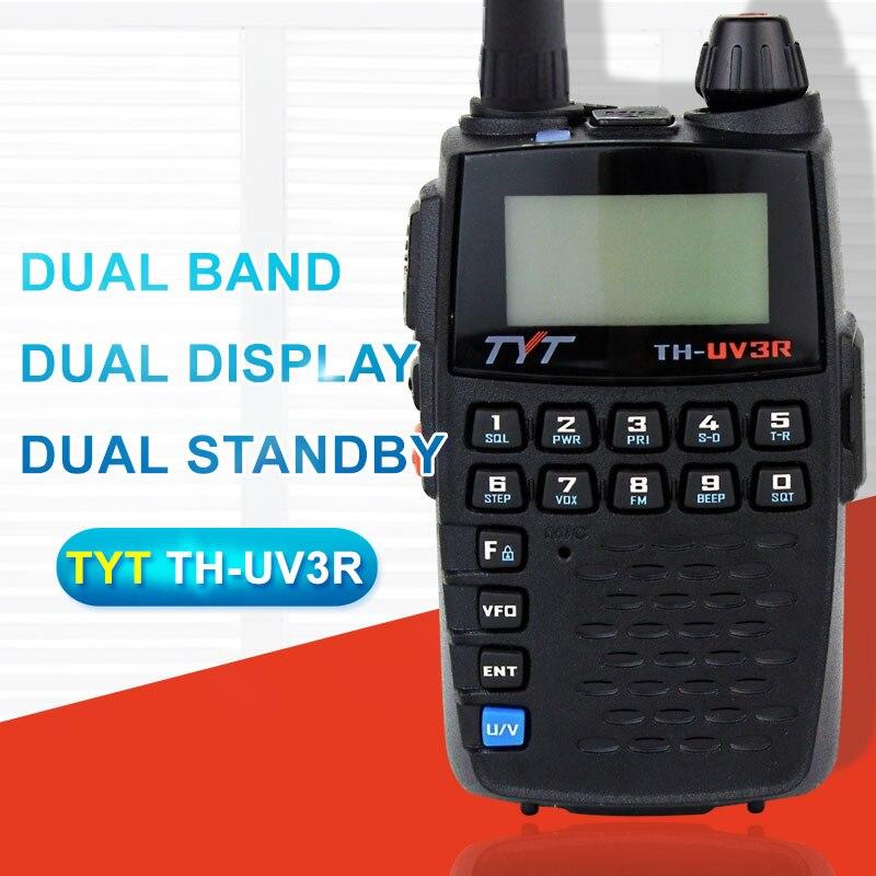 Gelten für TYT TH-UV3R Mini Handheld Zweiwegradio VHF/UHF Amateur HT Radio USB Lade CTCSS/DCS Walkie Talkie FM Transceiver