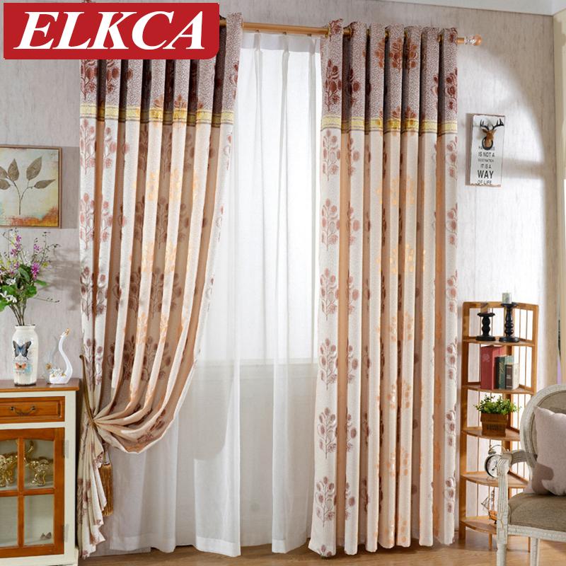 par unidades conjunto cortina de ventana cortinas para el dormitorio sala de