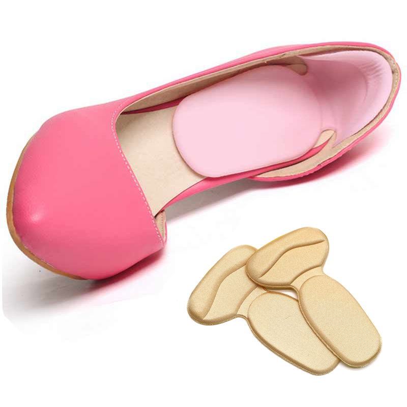 5pair High Heel Shoes Pad Super Soft Insoles Comfortable Heel Cushion Protector Cushion Shoe Insert Insoles Foot Massager