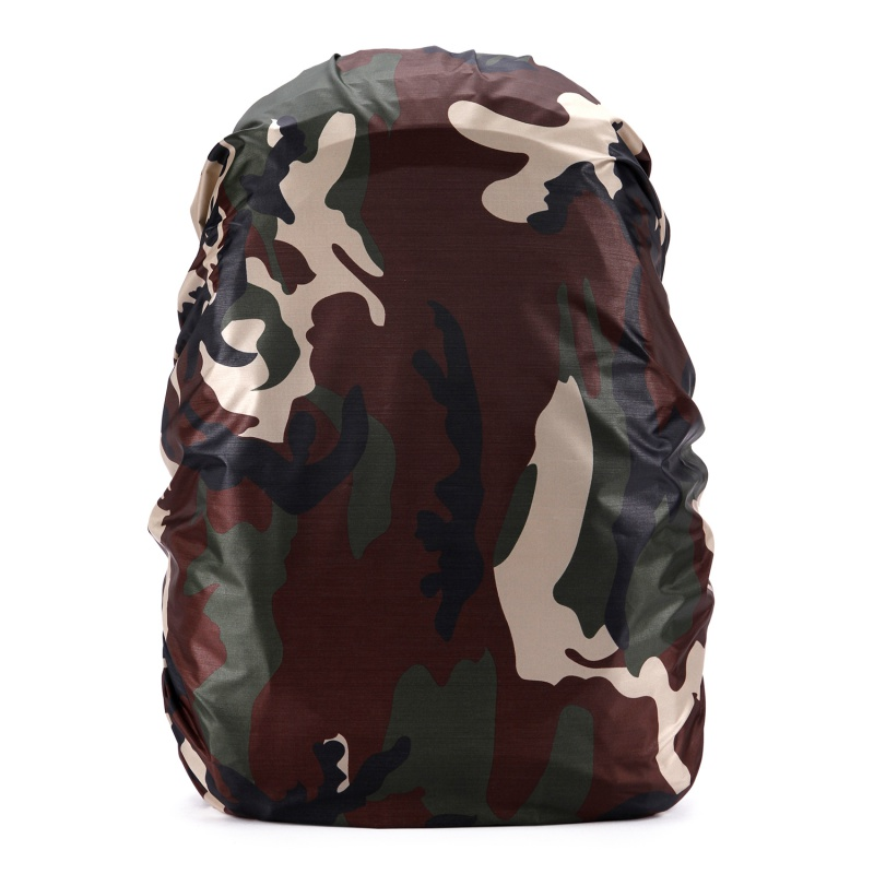 35L/45L//60L/70L/80L Camouflage Bags Rain Cover Hiking Camping Backpack Waterproof Cover Anti-theft Backpack Dustproof Cover