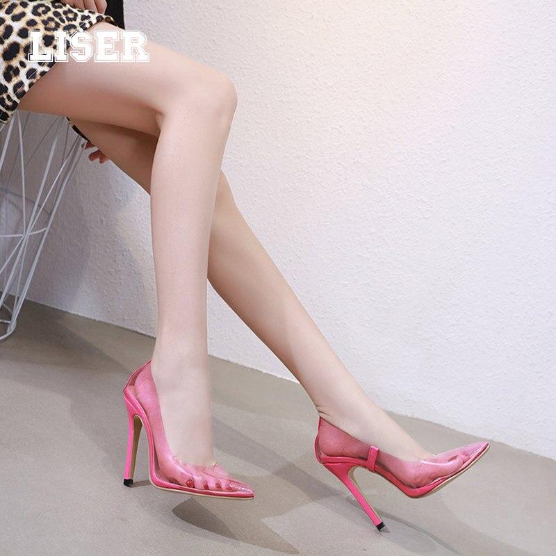 Jeunes Peu Nouvelles Chaussures Profonde Haute pink Black Translucide Pompes Concise Super Bout Slip Dames Classiques 2019 115mm Rose Sur Femmes Stilettos Pointu 7TxqS7Hw