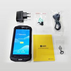 """Image 4 - Официальный AGM A8 5 """"3G + 32G FDD LTE Android 7,1 мобильный телефон 2SIM IP68 прочный телефон четырехъядерный 13.0MP 4050mAh Новый NFC OTG Смартфон"""