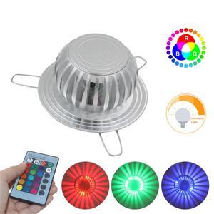 Image 5 - Приглушаемая светодиодная настенная лампа, светильник с 24 клавишами и пультом дистанционного управления, комнатное декоративное освещение, современные лампы, 7 цветов