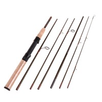 2 3M Carbon Fast Fly Fishing Rod Pole Travel Fish Enthusiasts With Cordura Pipe 20 1