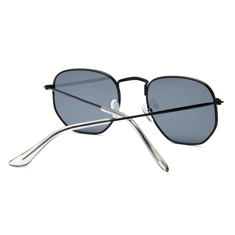 Luxury Hexagon unglasses Women Men Metal Frame Driving Fishing Sun Glasses Female Vintage Travel Eyewear UV400 Oculos Feminino in Women 39 s Sunglasses from Apparel Accessories