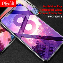 Anti-Blue Ray Tempered Glass Screen Protector for Xiaomi 6X 8 SE Full Covered Film 9H 3D for Xiaomi Redmi 5 6 6A Pro Note 5 Plus nillkin amazing pe 9h anti blue ray eyes care anti burst tempered glass screen film for iphone 6s plus 6 plus 5 5 inch