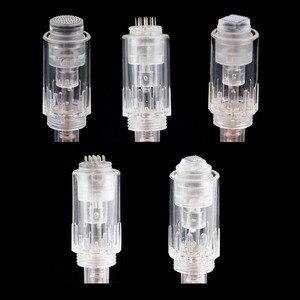 Image 5 - 100 ADET elektrikli cilt kalemi Iğneler 9 12 36 42 pin MYM Kartuş Otomatik cilt bakım kalemi Dr. Kalem İğneli vida Ucu