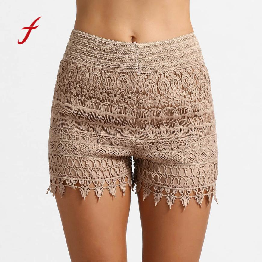 Fashion Women Summer High Waisted Lace   Short   Hot Lady Summer   Shorts   Trousers Fashion Night Club Dancing Wear