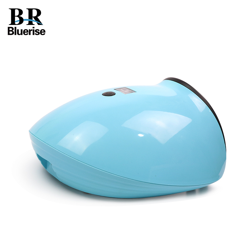 BLUERISE 48W Nail Lamp UV LED Dual Light Nail Dryer Curing Polish Gel 15s/30s/60s Timer LCD display Nail Art Tools LED-78 nail polish gel tools professional ccfl 48w led uv lamp light 110 220v nail dryer with automatic induction 10s 20s 30s timer