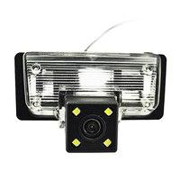 Auto 4 LED Night Vision Câmera de Visão Traseira Do Carro Câmera Reversa De Backup Câmera Do Carro para Nissan Almera 2013/TEANA TIIDA/Sylphy Altima