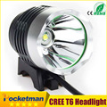 CREE XML XM-L T6 2200LM LED Bicycle Bike Headlight DC cycling Headlamp for camping Free Shipping(8.4v battery not included)