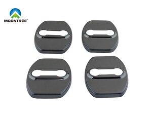 4 шт. черный Автомобильный Дверной замок защитный чехол для Buick LaCrosse Envision Regal