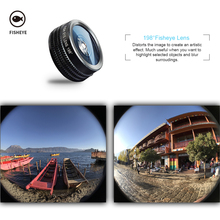 APEXEL 7in1 Phone Camera Lens Kit for Smartphone