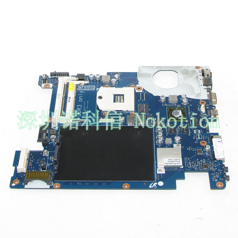 NOKOTION BA92-06675A BA92-06675B BA41-01299A For samsung NP-R440 R440 Laptop motherboard HM55 HD5000 DDR3 Main board free cpu nokotion ba92 06675a ba92 06675b ba41 01299a for samsung np r440 r440 laptop motherboard hm55 hd5000 ddr3 main board free cpu