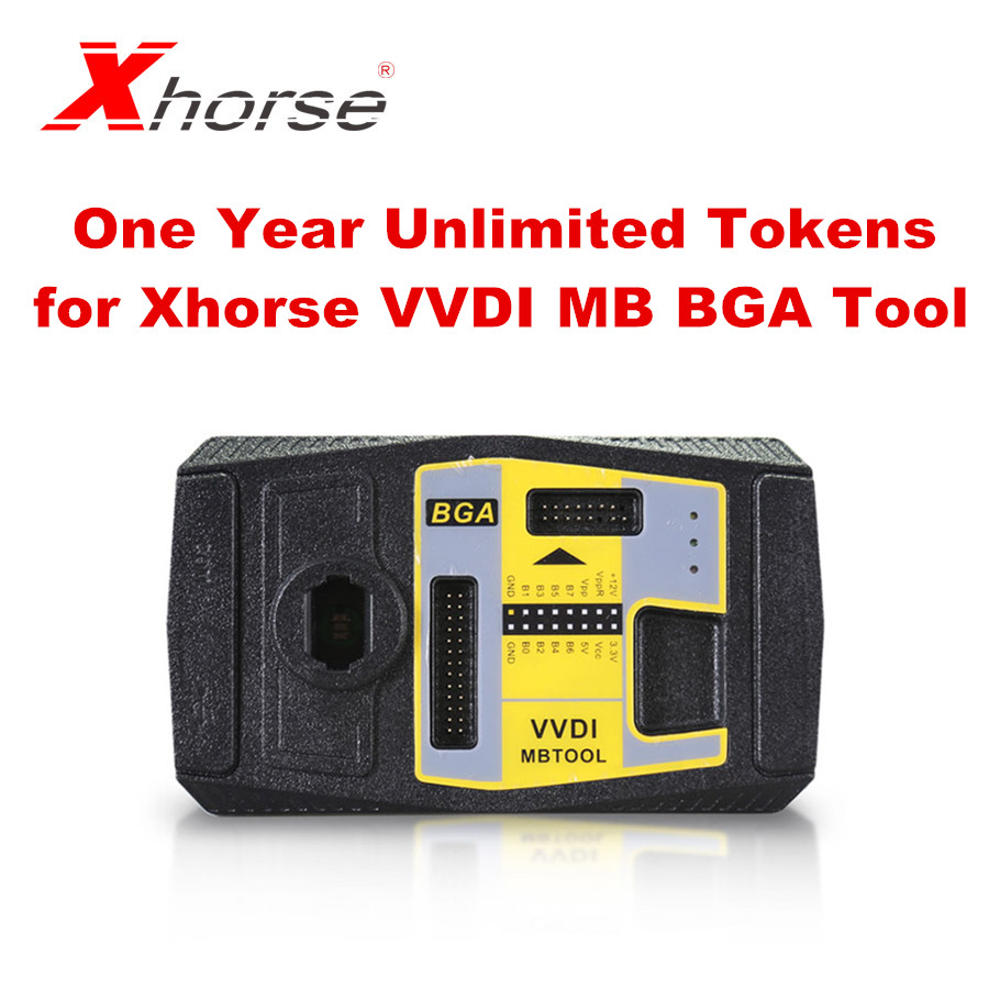 Xhorse Unlimited Tokens For Xhorse VVDI MB BGA Tool For One Year Period For BENZ Password Calculation Unlimited Token
