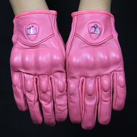 Free Shipping Hot Selling 2 Pairs Unisex Style Genuine Leather Driving Gloves Thicken Thermal Keeping Suitable