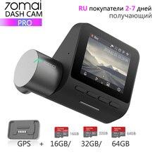 Xiaomi 70mai Pro Dash Cam Full HD 1944 P автомобильная камера рекордер gps ADAS 70 mai Wifi Dvr автомобильный 24 H монитор парковки 140FOV ночного видения