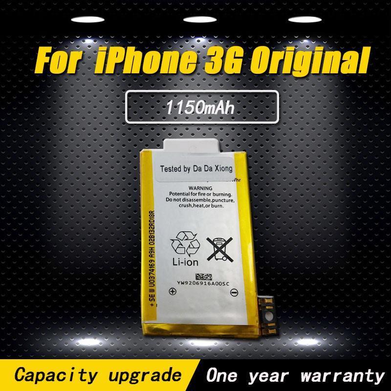 For IPhone 3G Original Battery Replacement 1150mAh