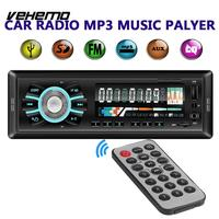 Car Mp3 Radio Player Car Auto MP3 Premium Music CD FM Stereo Universal 12V In dash 1 Din FM Aux Input Receiver