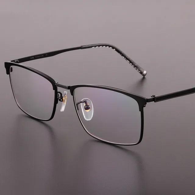 High Quality Men Glasses Frames Pure Titanium Full Frame Prescription Glasses Titanium Men Eyeglasses Optical Glasses Frame 922